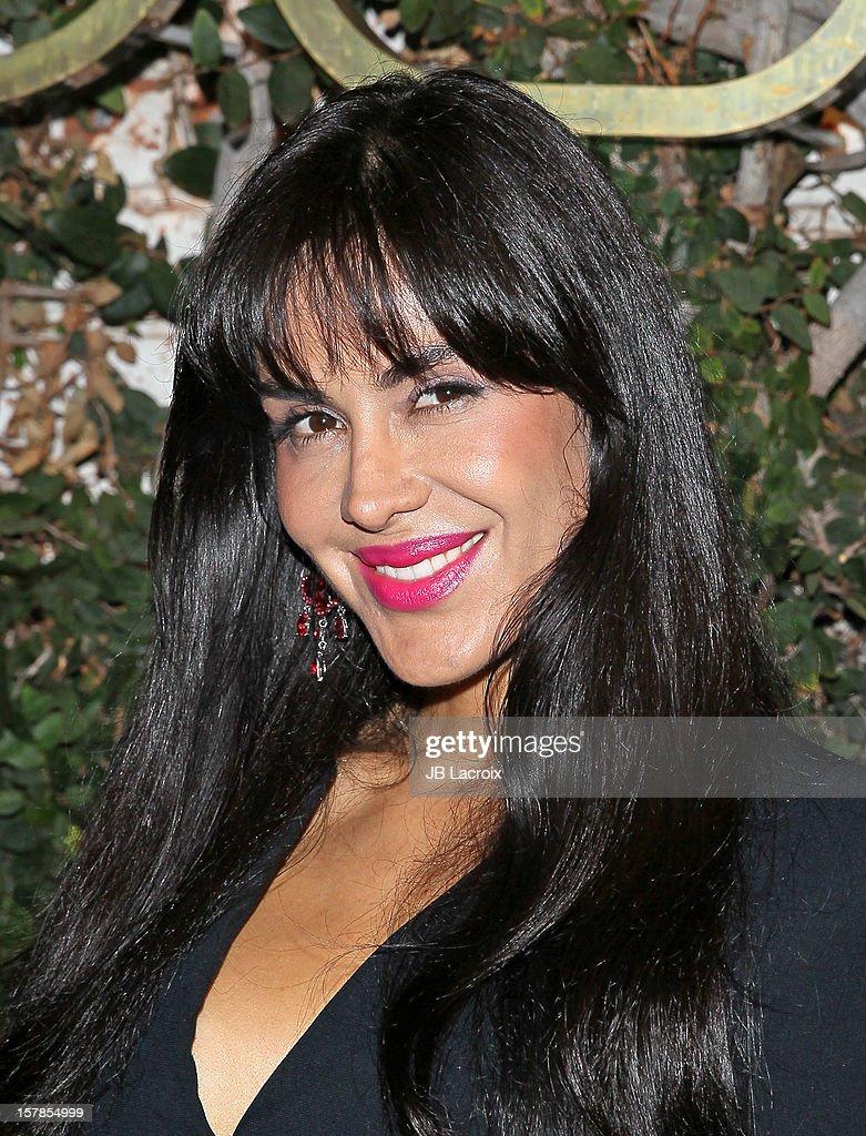 Carla Ortiz is seen on December 6, 2012 in Los Angeles, California.