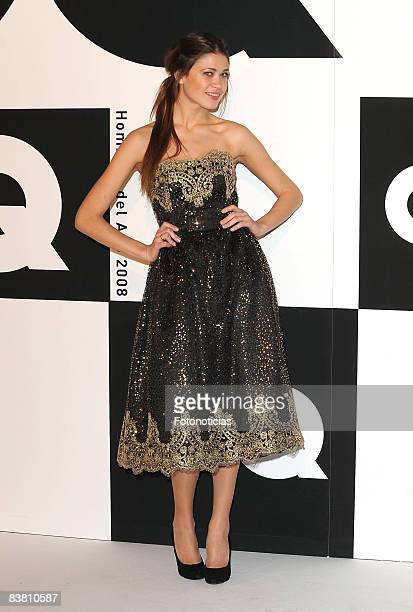 Carla Pereira attends 2008 GQ Magazine Men of the Year Awards ceremony at the Palace Hotel on November 24 2008 in Madrid Spain