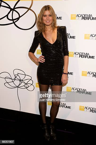 Carla Pereira attends the 'Academia del Perfume' Awards on November 18 2009 in Madrid Spain