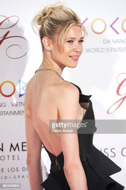 Carla Pereira attends the Global Gift Gala 2017 at the Royal Teather on April 4 2017 in Madrid Spain