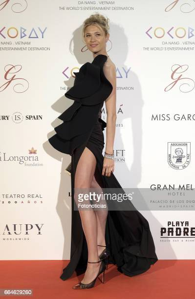 Carla Pereira attends the Global Gift Gala at The Royal Theatre on April 4 2017 in Madrid Spain