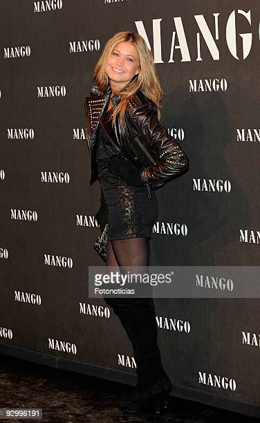 Carla Pereira attends the launch party of the Mango collection at the Caja Magica on November 11 2009 in Madrid Spain