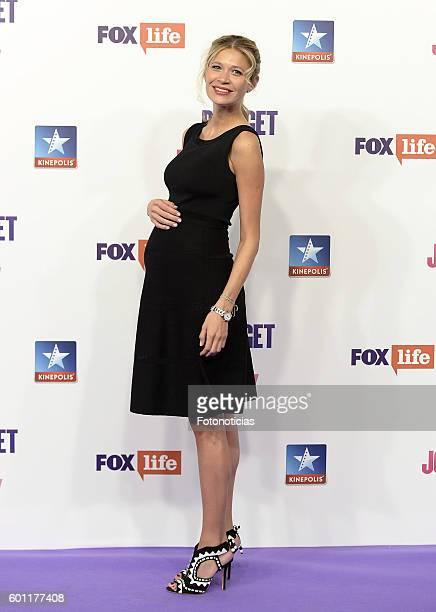 Carla Pereyra attends the 'Bridget Jones Baby' premiere at Kinepolis Cinemas on September 9 2016 in Madrid Spain