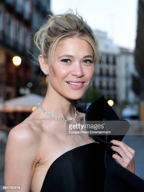 Carla Pereyra attends the Global Gift Gala 2017 at Royal Theatre on April 4 2017 in Madrid Spain