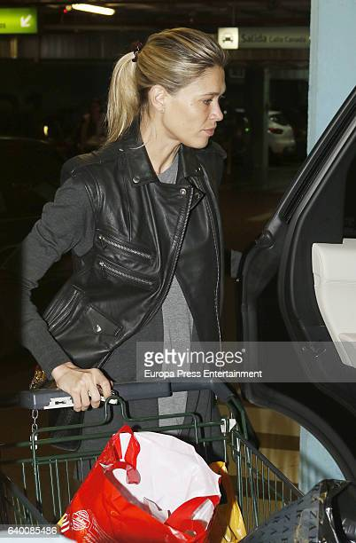 Carla Pereyra is seen on January 16 2017 in Madrid Spain
