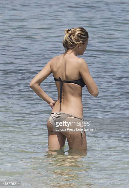 Carla Pereyra is seen on July 29 2014 in Ibiza Spain