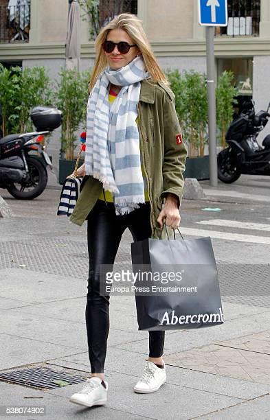 Carla Pereyra is seen on May 13 2016 in Madrid Spain