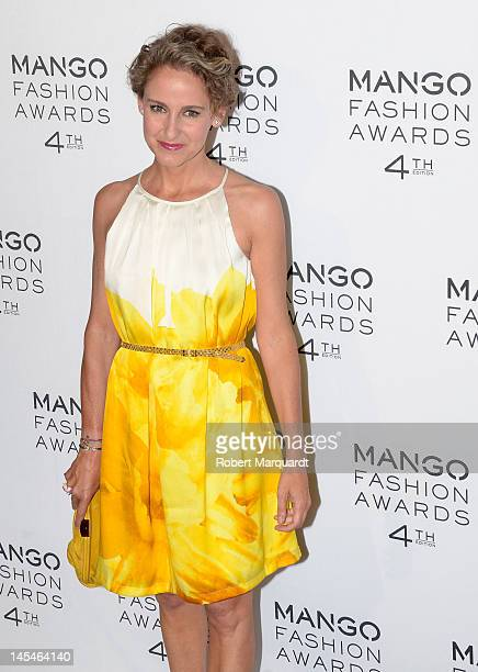 Carla Royo Villanova attends the 4th Mango Fashion Awards 2012 Gala held at the Museu Nacional d'Art de Catalunya on May 30 2012 in Barcelona Spain