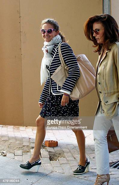 Carla Royo Villanova is seen on June 17 2015 in Madrid Spain