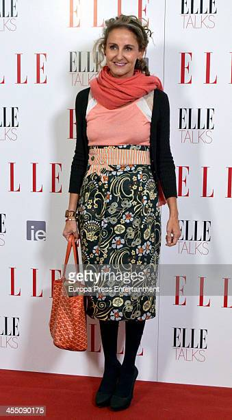 Carla RoyoVillanova attends 'ELLE Talks' at IE Business School on December 10 2013 in Madrid Spain