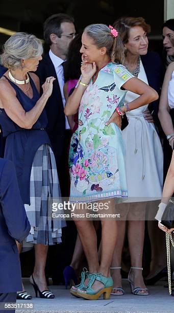 Carla RoyoVillanova attends FEDEPE Awards at Cecilio Rodriguez gardens on July 26 2016 in Madrid Spain