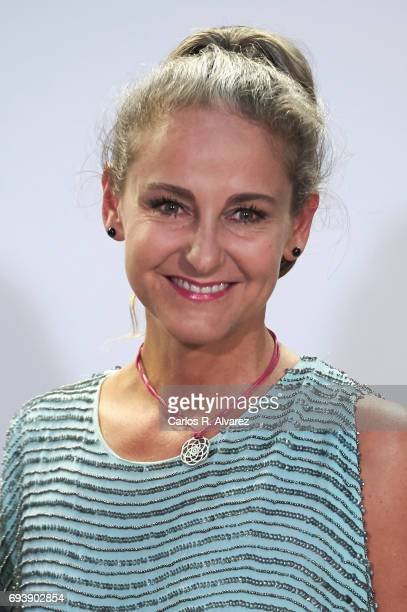 Carla RoyoVillanova attends Paco Rabanne exhibition at the Real Academia de Bellas Artes de San Fernando on June 8 2017 in Madrid Spain