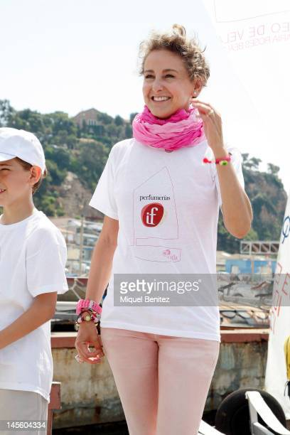 Carla RoyoVillanova attends the 'IV Carla Bulgaria Roses Beauty Sailing Trophy' on June 2 2012 in Blanes Girona Spain
