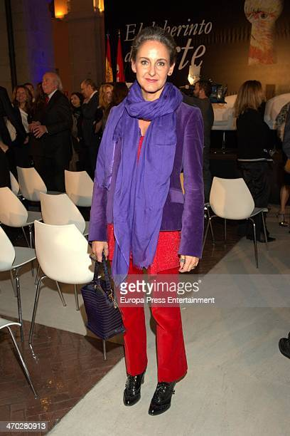 Carla RoyoVillanova attends the presentation of the book 'El laberinto del arte' by Carmen Reviriego at Casa de Correos on February 18 2014 in Madrid...