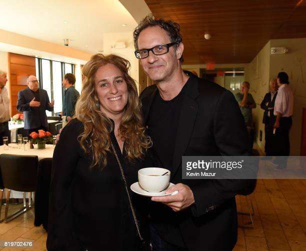Carla Sacks and Jon Salter GM ATO Records attend City of Hope's The New York Spirit Of Life Campaign kick off event honoring Coran Capshaw at Fred's...