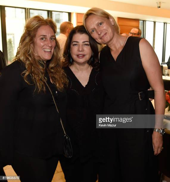 Carla Sacks and Michele Anthony Executive Vice President of Universal Music Group attend City of Hope's The New York Spirit Of Life Campaign kick off...