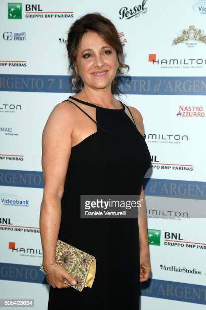 Carla Signoris attends Nastri D'Argento 2017 Awards Ceremony on July 1 2017 in Taormina Italy