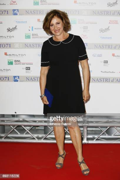 Carla Signoris attends the nominees presentation of Nastri D'Argento at Maxxi Museum on June 6 2017 in Rome Italy