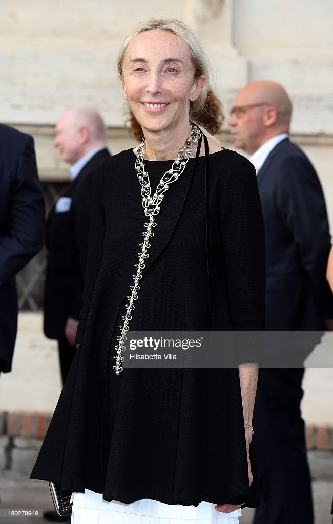 <a gi-track='captionPersonalityLinkClicked' href=/galleries/search?phrase=Carla+Sozzani&family=editorial&specificpeople=884879 ng-click='$event.stopPropagation()'>Carla Sozzani</a> attends 'Couture / Sculpture' Vernissage Cocktail honoring Azzedine Alaia in the history of fashion as part of AltaRoma AltaModa Fashion Week Fall/Winter 2015/16 at Galleria Borghese on July 10, 2015 in Rome, Italy.