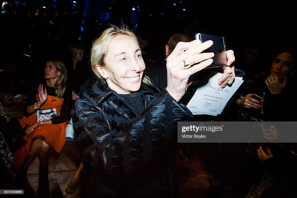 <a gi-track='captionPersonalityLinkClicked' href=/galleries/search?phrase=Carla+Sozzani&family=editorial&specificpeople=884879 ng-click='$event.stopPropagation()'>Carla Sozzani</a> attends the Christian Dior Haute Couture Spring Summer 2016 show as part of Paris Fashion Week on January 25, 2016 in Paris, France.