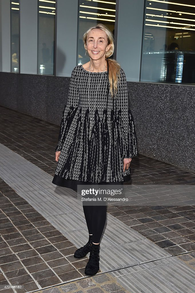 <a gi-track='captionPersonalityLinkClicked' href=/galleries/search?phrase=Carla+Sozzani&family=editorial&specificpeople=884879 ng-click='$event.stopPropagation()'>Carla Sozzani</a> attends the Fondazione Prada Opening on May 4, 2015 in Milan, Italy.
