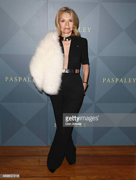 Carla Zampatti arrives for the 2014 Touchstone by Paspaley Est Restaurant on October 8 2014 in Sydney Australia