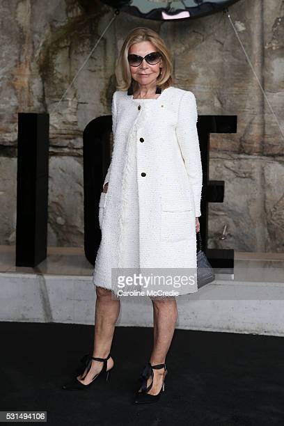 Carla Zampatti attends the MercedesBenz Presents Maticevski show at MercedesBenz Fashion Week Resort 17 Collections at The Cutaway Barangaroo Reserve...