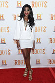 Carlacia Grant attends the 'Roots' night one screening at Alice Tully Hall Lincoln Center on May 23 2016 in New York City