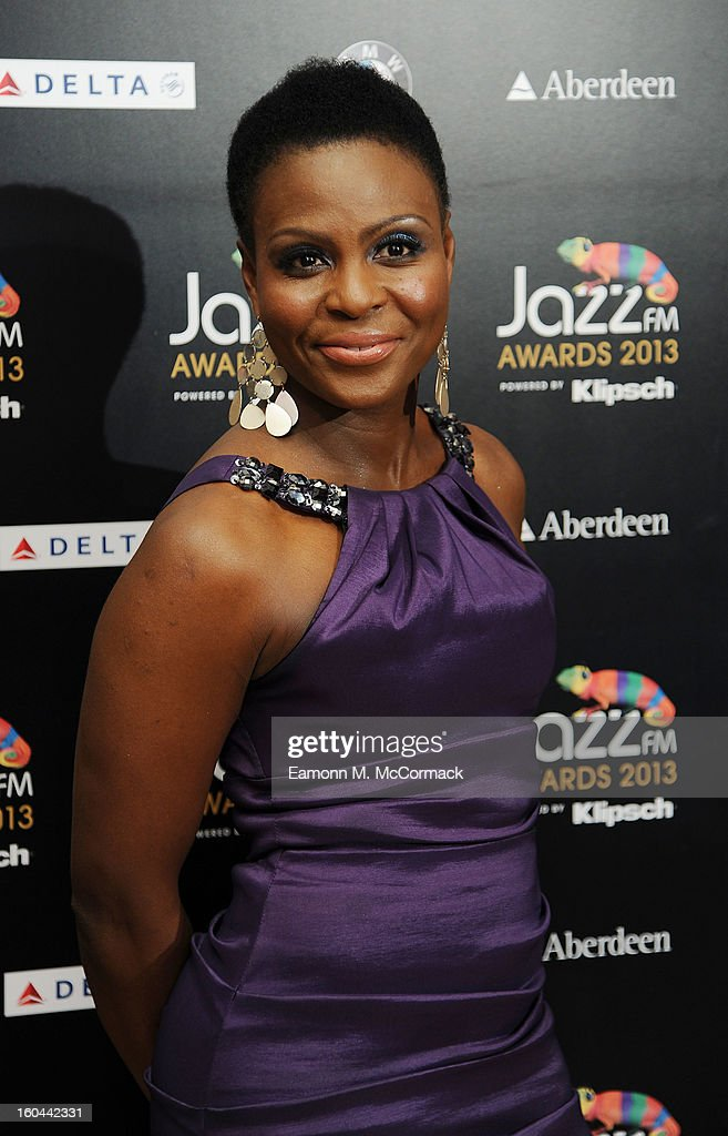 Carleen Aderson attends the Jazz FM Awards at One Marylebone on January 31, 2013 in London, England.