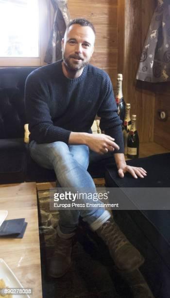 Carles Francino attends Moet Winter Lounge In Baqueira ski resort on December 8 2017 in Baqueira Beret Spain