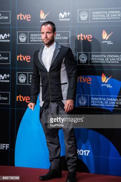 Carles Francino attends the red carpet of the closure gala during 65th San Sebastian Film Festival at Kursaal on September 30 2017 in San Sebastian...