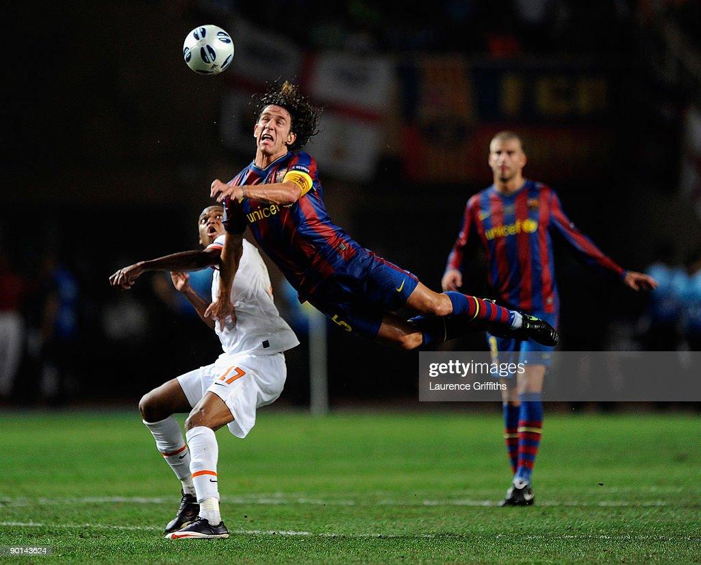 s et images de Barcelona v Shakhtar Donetsk UEFA Super Cup