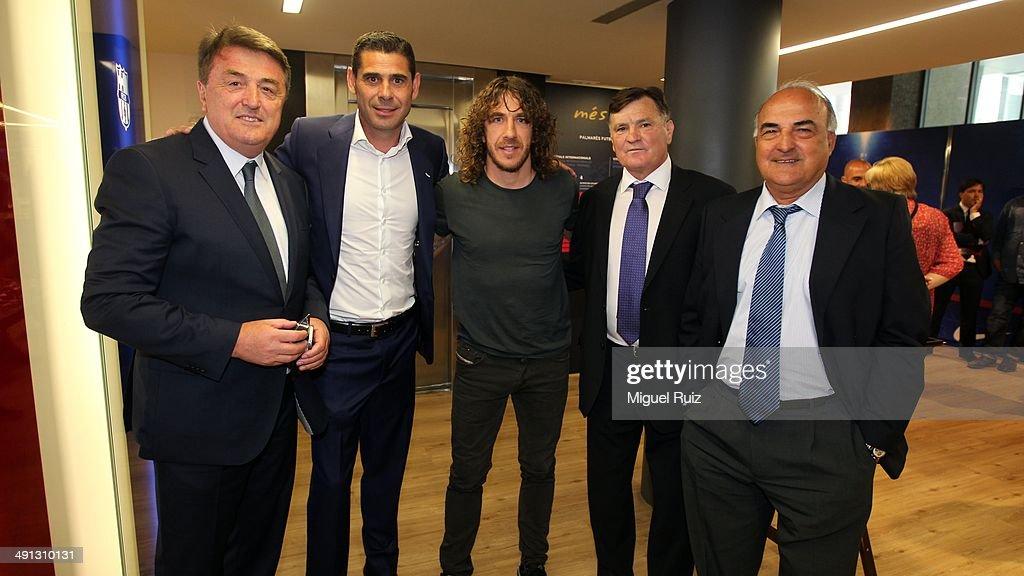 FC Barcelona Bid Farewell To Carles Puyol