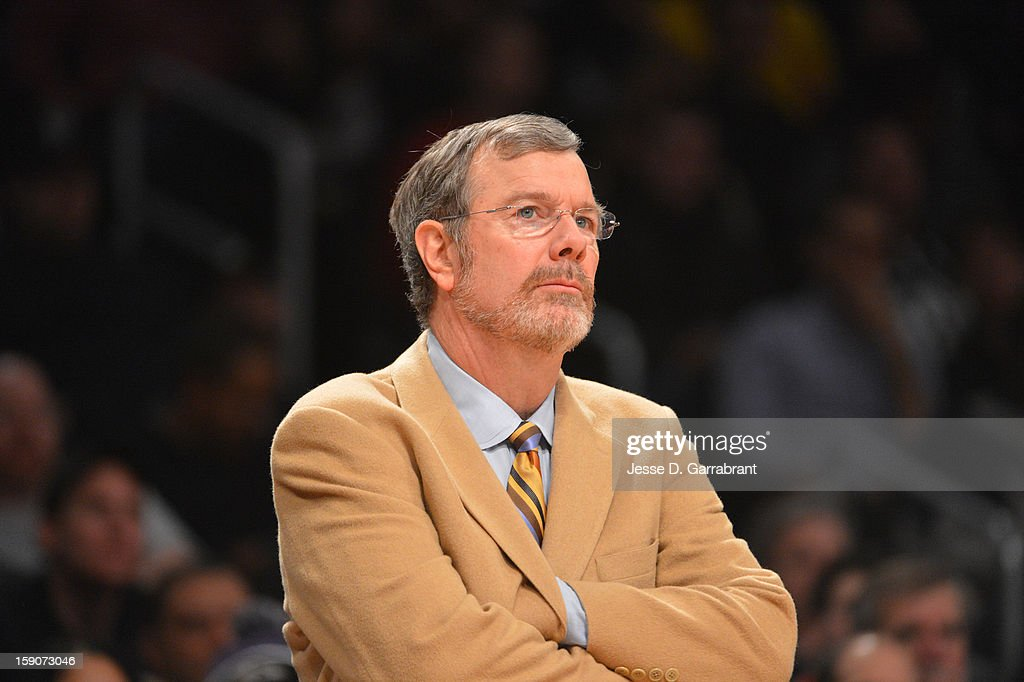 P.J. Carlesimo of the Brooklyn Nets during the game against the Cleveland Cavaliers at the Barclays Center on December 29, 2012 in Brooklyn, New York.