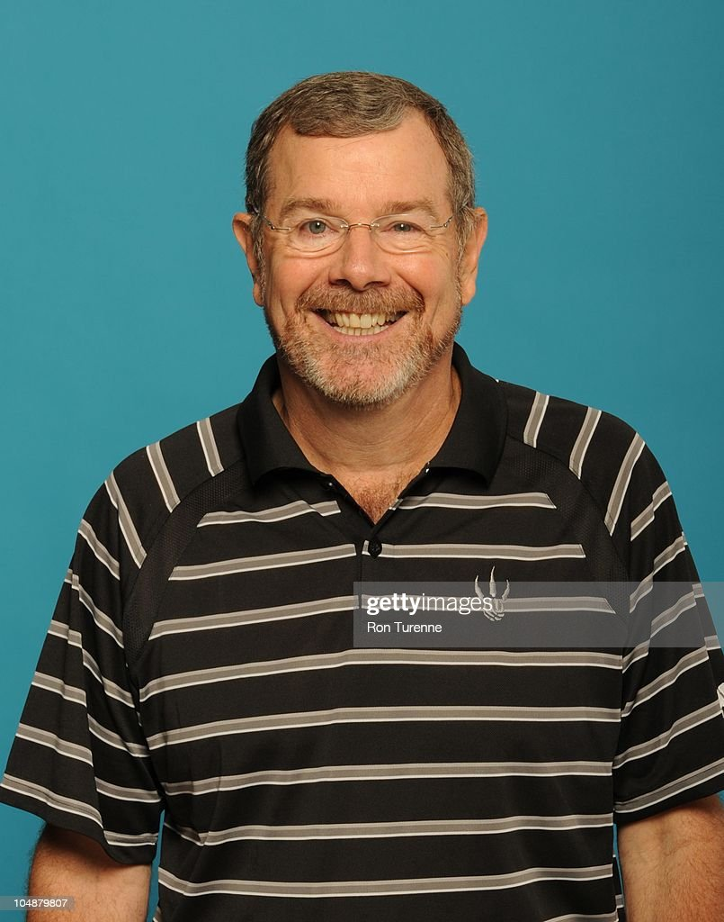 J Carlesimo of the Toronto Raptors poses for a photo during Media Day on September 27 2010 at the adidas Practice Court in Toronto Canada NOTE TO...