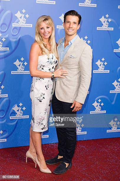 Carley Stenson and Danny Mac arrive for the National Lottery Awards 2016 at The London Studios on September 9 2016 in London England