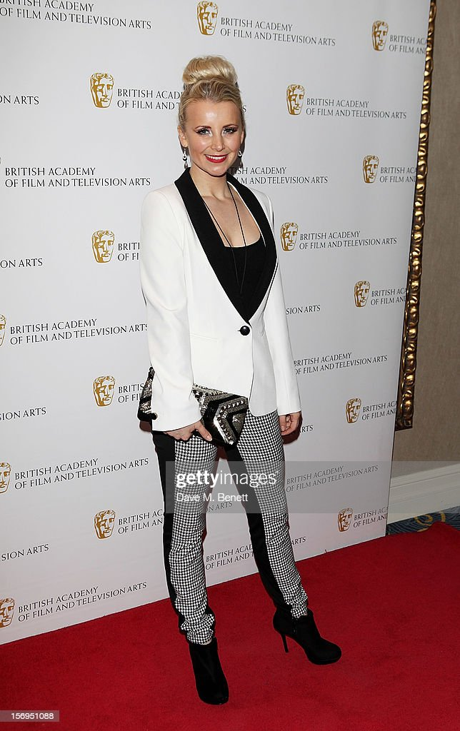 Carley Stenson arrives at the British Academy Children's Awards at the London Hilton on November 25, 2012 in London, England.