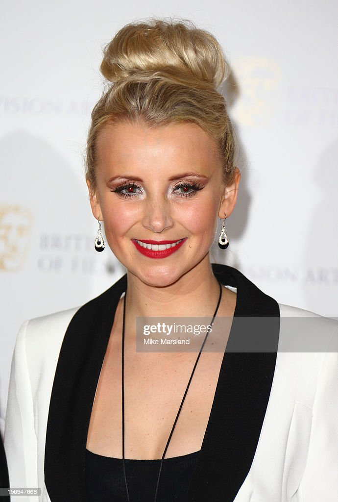 Carley Stenson attends the British Academy Children's Awards at London Hilton on November 25, 2012 in London, England.