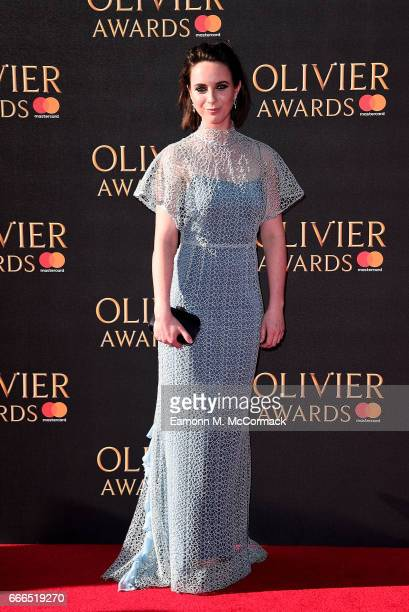 Carley Stenson attends The Olivier Awards 2017 at Royal Albert Hall on April 9 2017 in London England