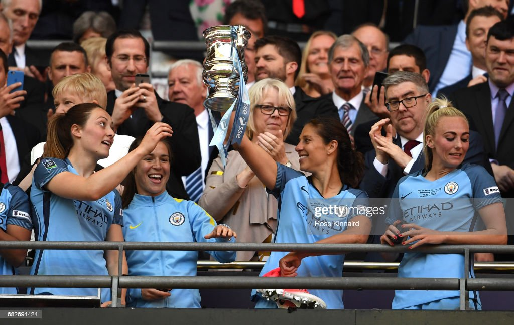 Birmingham City Ladies v Manchester City Women - SSE Women's FA Cup Final : News Photo