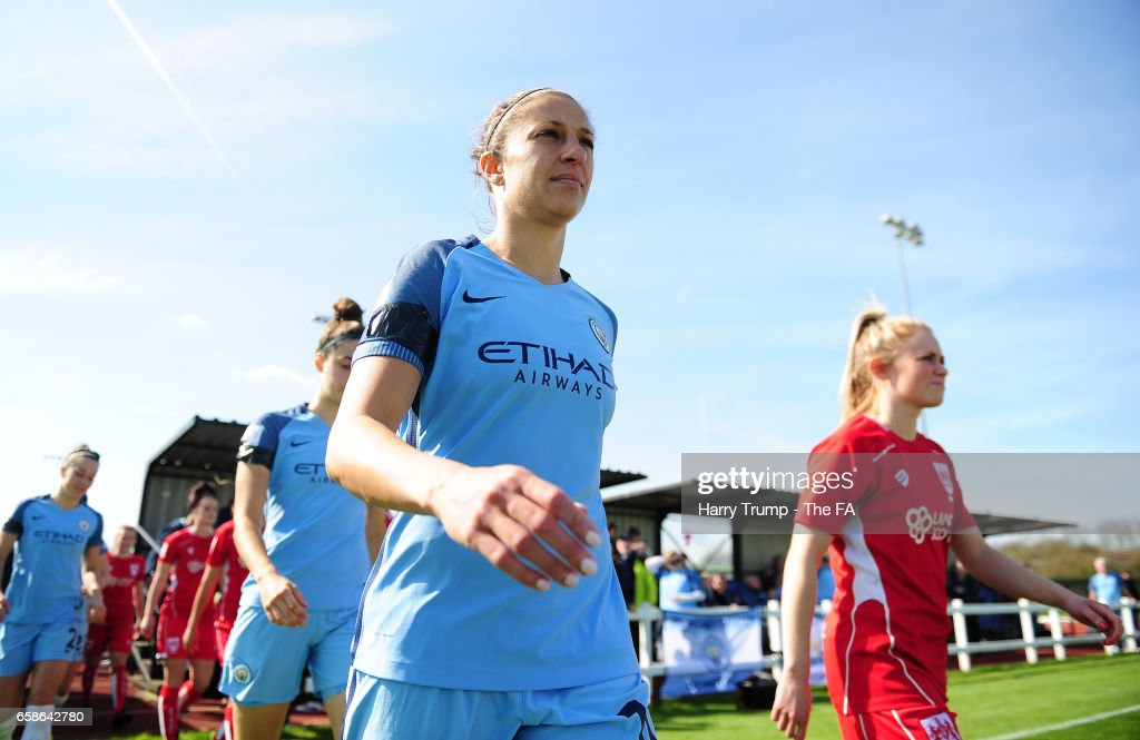 Bristol City Women v Manchester City Women: SSE FA Women's Cup, Sixth Round : News Photo