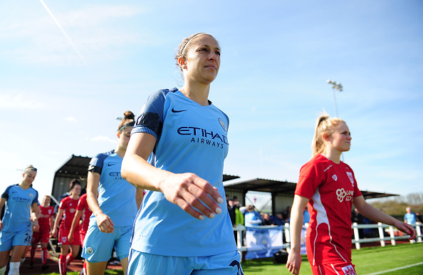 Bristol City Women v Manchester City Women: SSE FA Women's Cup, Sixth Round : News Photo