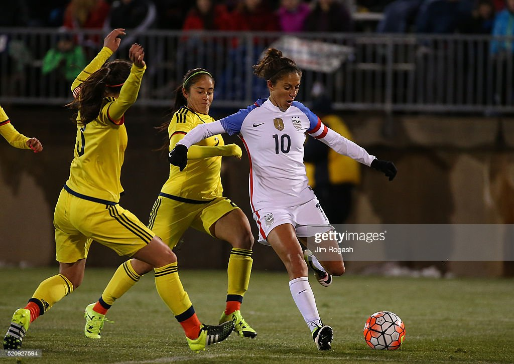 Carli Lloyd Sprains MCL, Out 3-6 Weeks