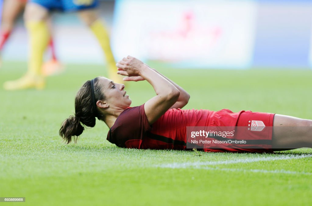 USA Women v Sweden Women - International Friendly : News Photo