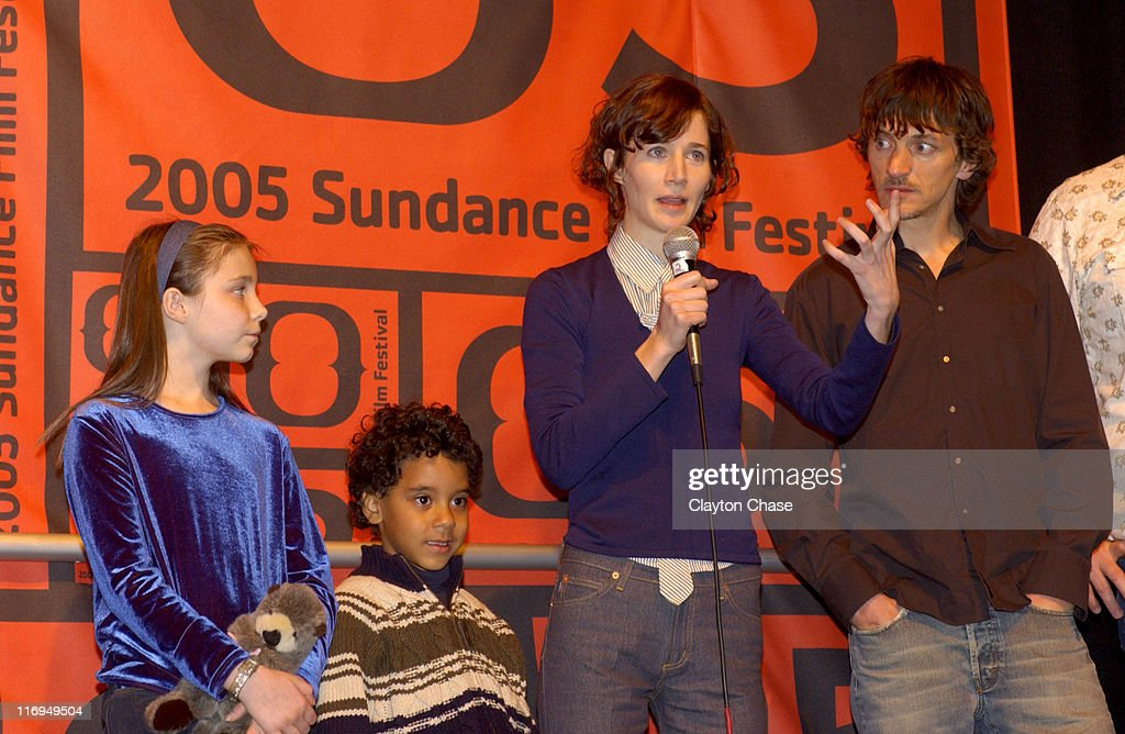 Carlie Westerman Brandon Ratcliff Miranda July director of 'Me and You and Everyone We Know' John Hawkes and Brad Henke