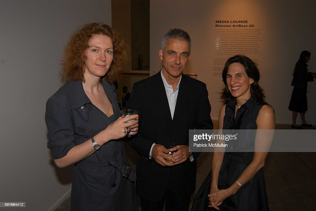 Carlier Maryblanche Eric Scott and Lisa Roumell attend New Museum Hosts Opening Reception for Aernout Mik's Refraction Rhizome Artbase 101 at New...