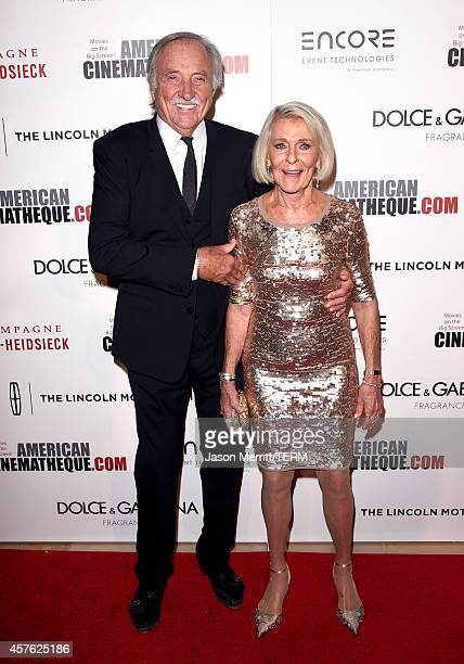 J Carlig and Kay McConaughey attend the 28th American Cinematheque Award honoring Matthew McConaughey at The Beverly Hilton Hotel on October 21 2014...