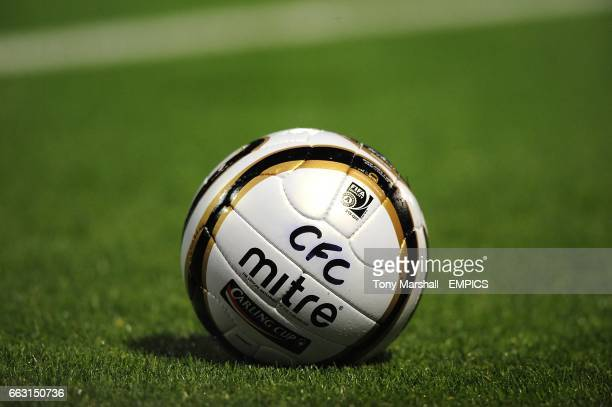 Carling Cup matchball