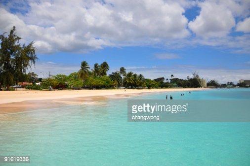 Carlisle Bay, Barbados : Stock Photo