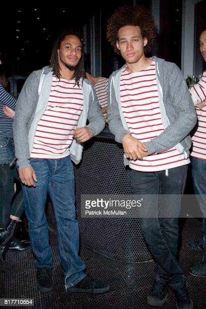 Carlito Moore and Madison Steward attend EMPOWERING WOMEN THROUGH MUSIC INITIATIVE by MUSIC UNITES at The Standard's Le Bain on October 4 2010 in New...